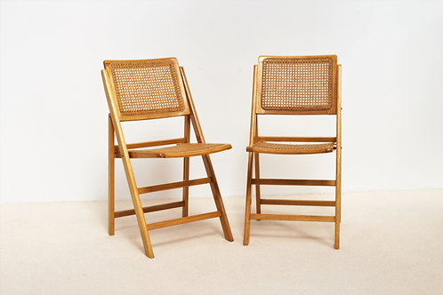 Chaises cannées