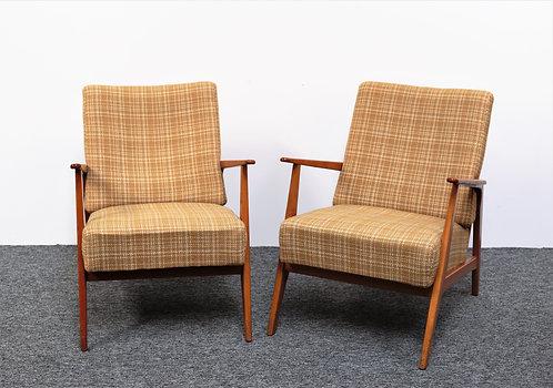 Duo de fauteuils Suédois