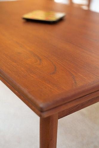 Table de salle à manger Mid-Century en Teck