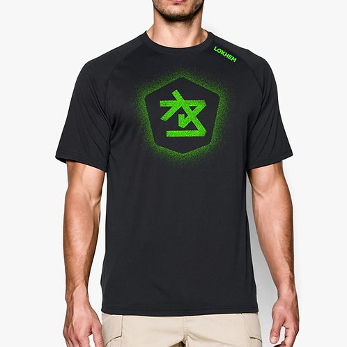 Pixel Stencil Green