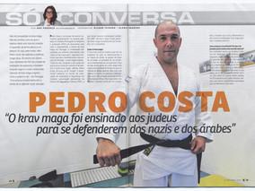 Reportagem Krav Maga Original no jornal -  O JOGO