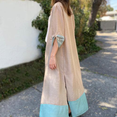 Kimono Dorado Agua