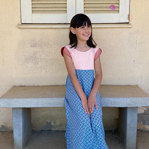 Vestido Largo Melón