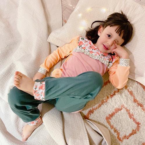 Pijama Flores