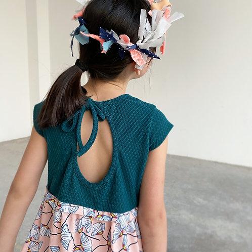 Vestido Abanico