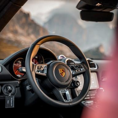 Porsche Giau - 718 Cayman GTS - Interior