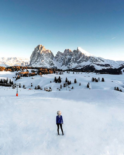 About a short winter travel _ Alpe di Si