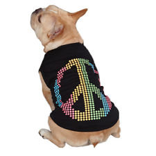 Peace Sign Dog Tank by East Side Collection