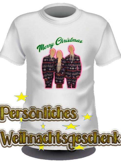 Individuelles Weihnachts Shirt