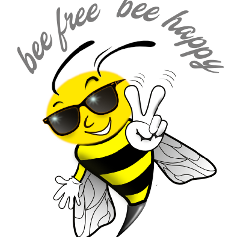 bee free - bee happy
