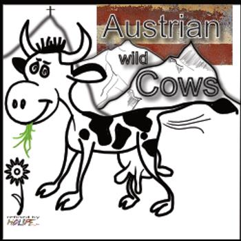 Austrian wild Cows