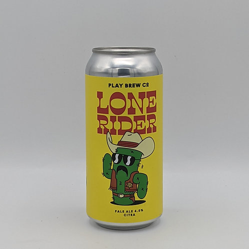 Play Brew Co - Lone Rider Pale Ale