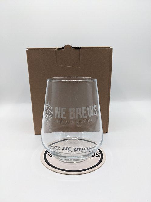 NE BREWS 440ml Glass