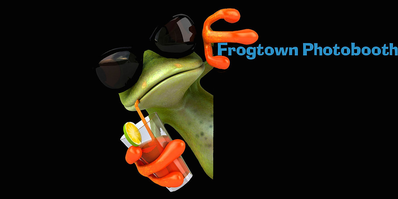Frogtown Photobooth Frog