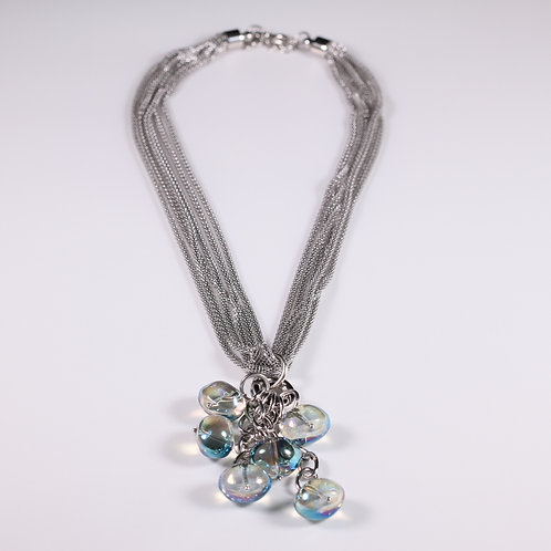 2812—Shallow Tide Bauble Necklace