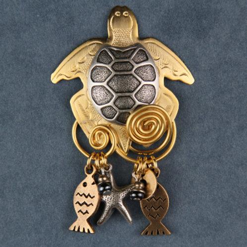2181—Turtle Pin