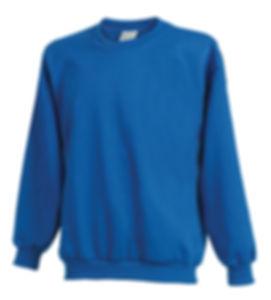 Crewneck sweatshirt made in America