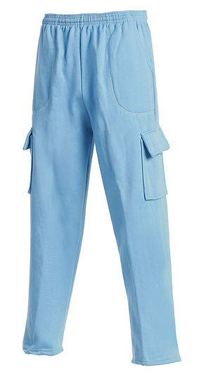 Cargo sweatpants made in USA