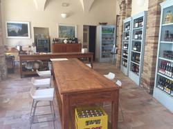Castello di Monterado Tasting room