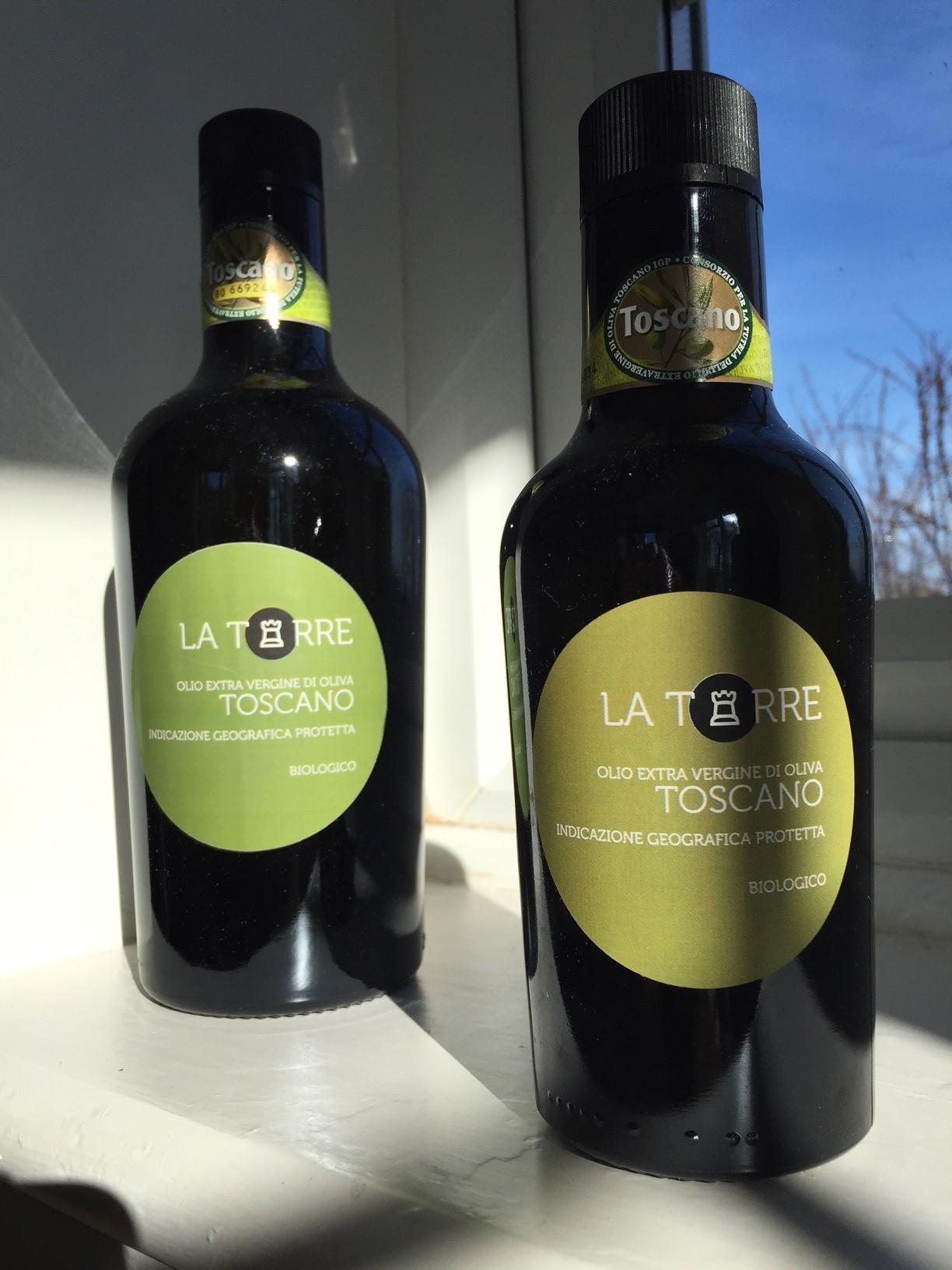 La Torre oils from Arezzo