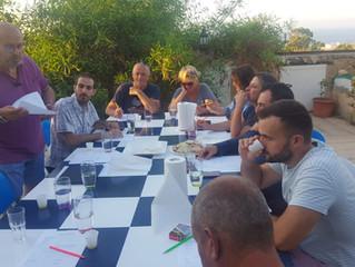 Olive oil tasting in Madliena Malta