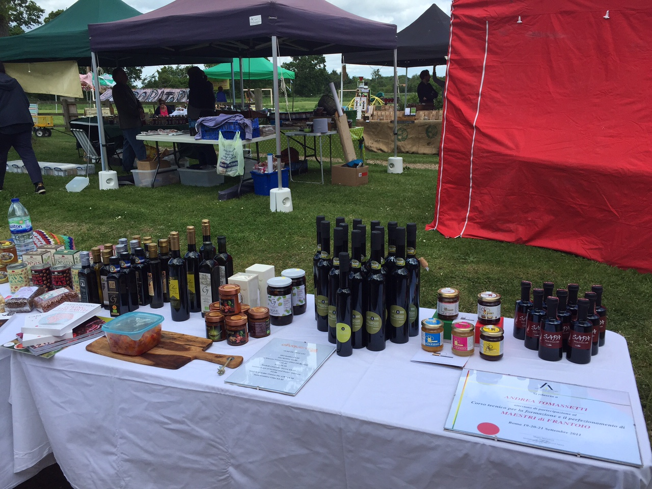 Olive oil event UK