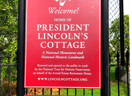 Connecting on the 20 Porches by Lincoln's Summer Cottage