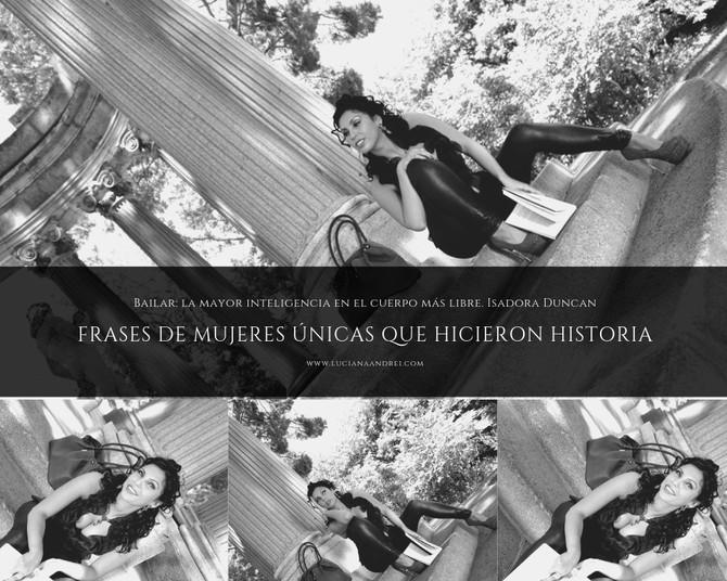 FRASES DE MUJERES ÚNICAS QUE HICIERON HISTORIA(4)