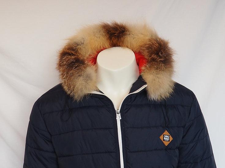 Pánská zimní bunda + lem LIŠKA