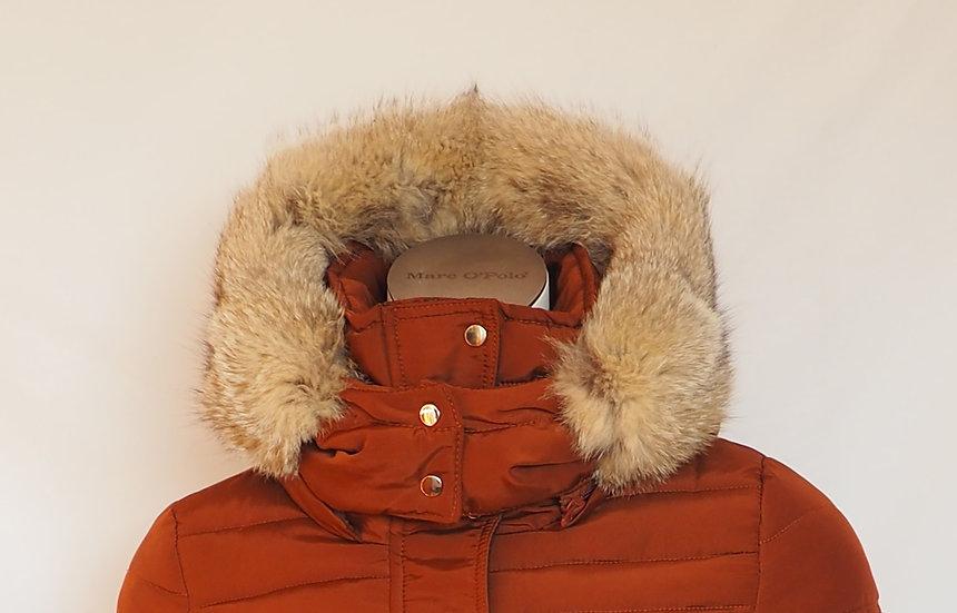 Dámská zimní bunda + límec LIŠKA