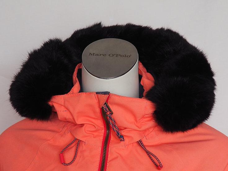 Dámská zimní bunda + límec černý KRÁLÍK