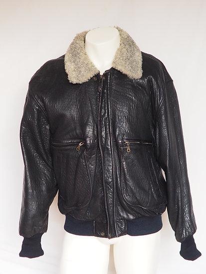 Pánská kožená bunda + límec PERSIÁN