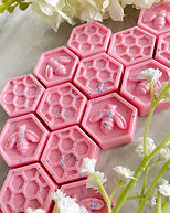 Pinky Sands Soy Wax Melts Honeycomb Bee