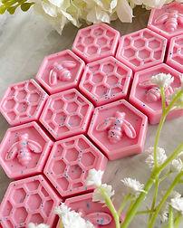 Pinky Sands Fragranced Honeycomb Wax Melts