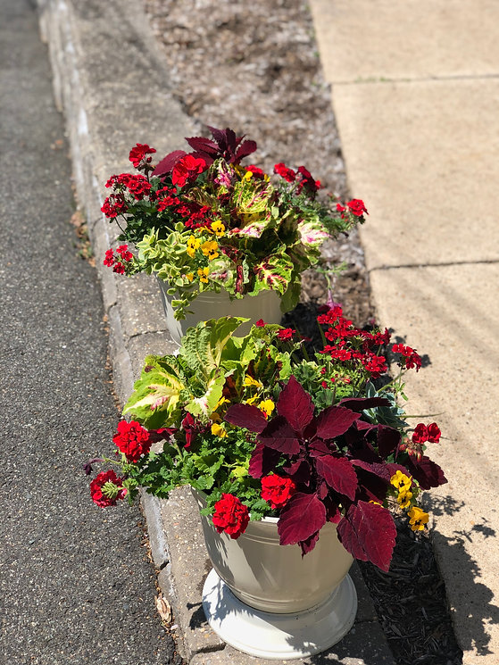 outdoor residential planters