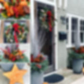 holiday outdoor home decor