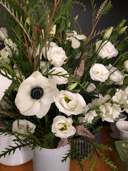 Sympathy flowers for the home