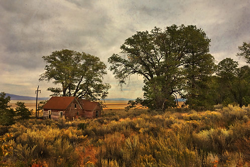 Old Farmhouse, Hwy 395