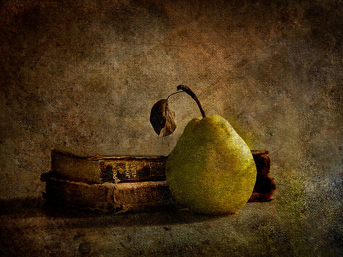 Pear and  Books