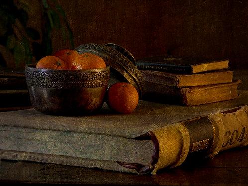 Books and Oranges