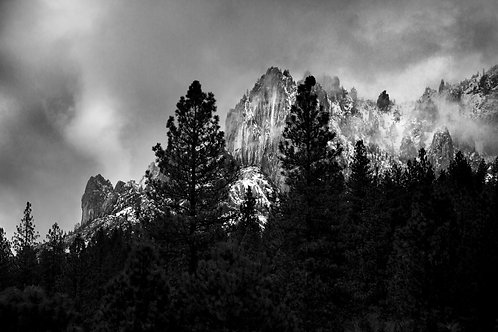 Castle Crags in Winter