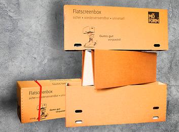 Flatscreenbox für Umzug/Transport/Beste Service