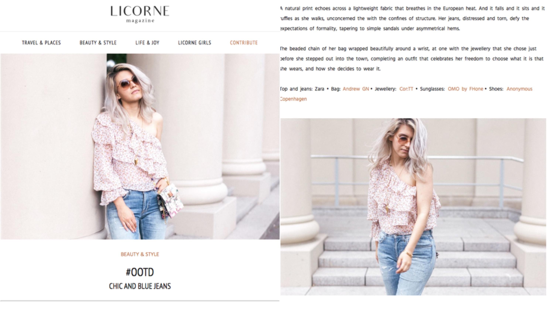 licorne blog