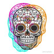 Calaveras mexicanas. Diseño.