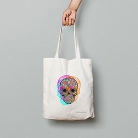 Calaveras mexicanas - Tote Bag