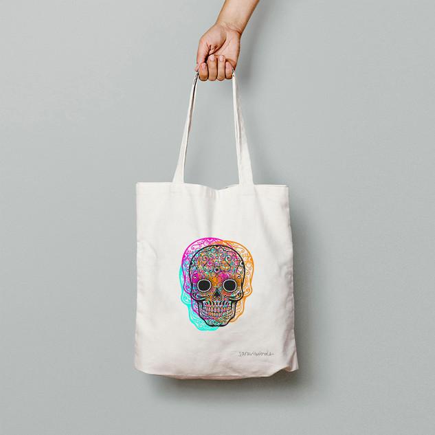 Calaveras mexicanas 1 - Tote Bag