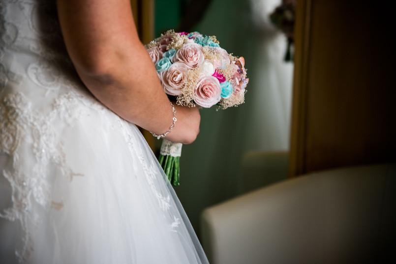 Foto de boda. La Novia