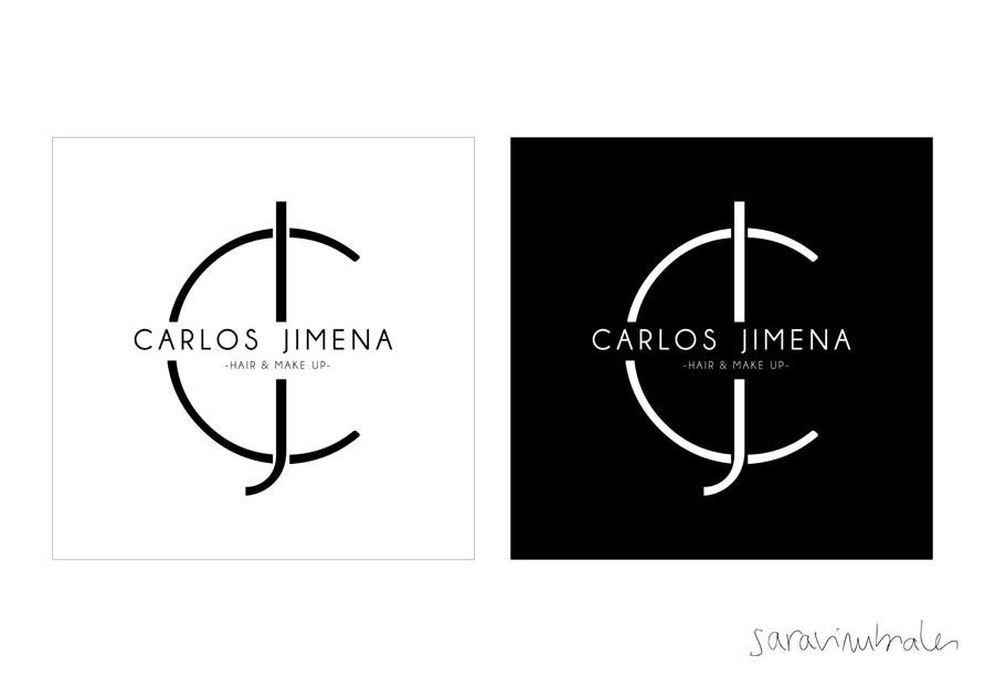 Logo Carlos Jimena. Diseño.