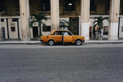 Taxi. La Habana. Cuba.