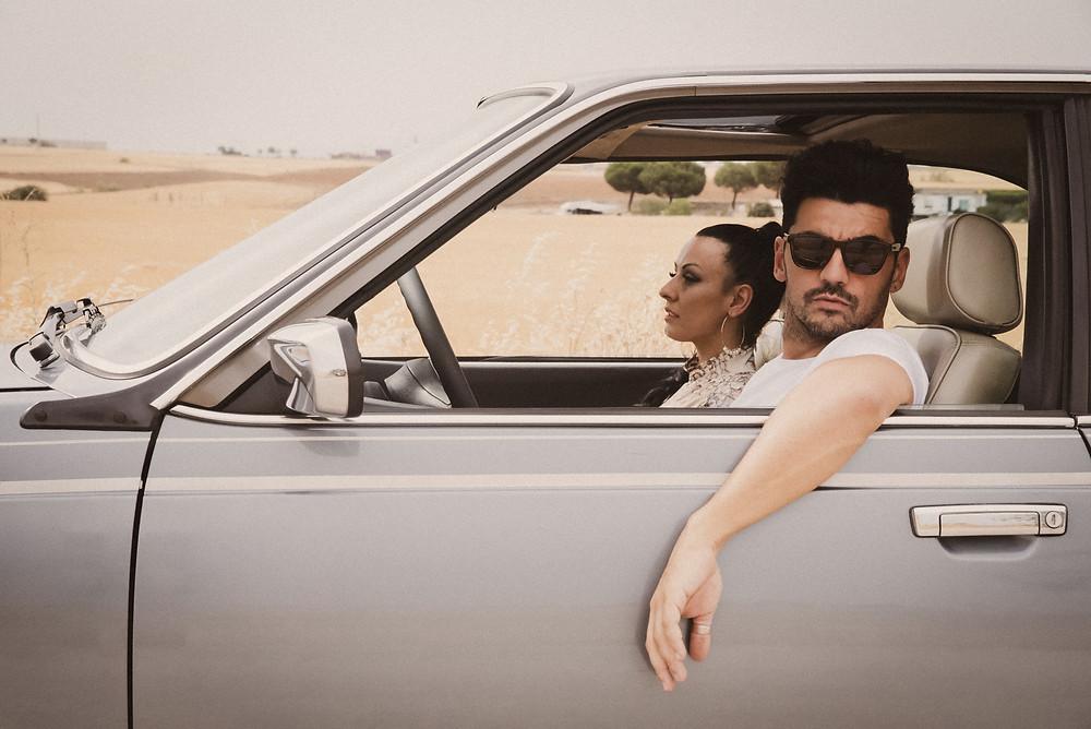 Foto fija del videoclip 'No te enamores de mí' de Hanna